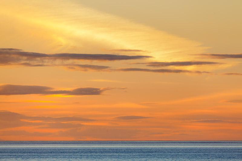 Sunset, Patos Island