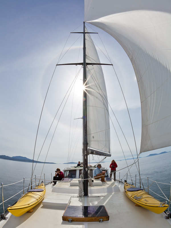 Sailing on the S/V Nawalak
