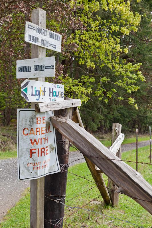Road to Turn Point Lighthouse, Stuart Island