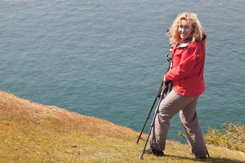 Linda Brown, Stuart Island