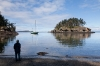 Dave Lutz on Matia Island, San Juan Islands