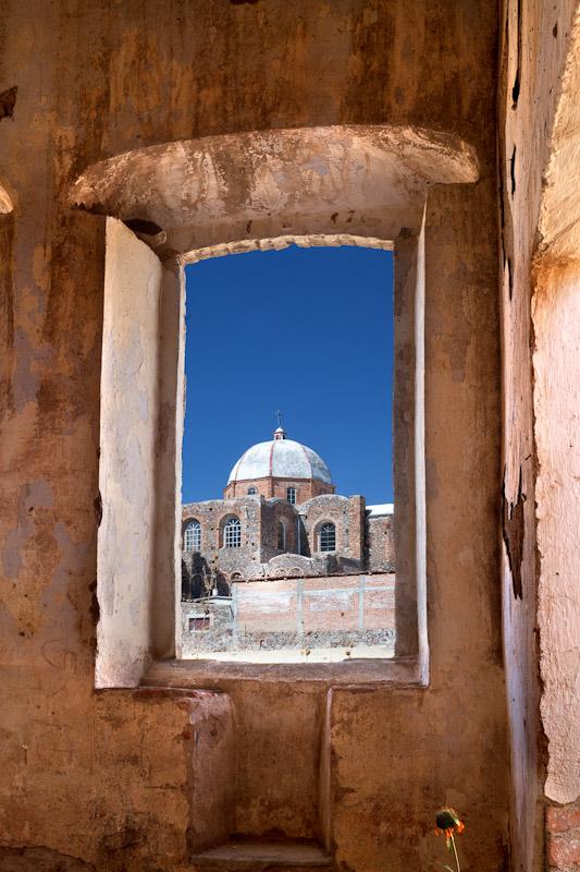 The ruins in Jalpa, Guanajuato, Mexico