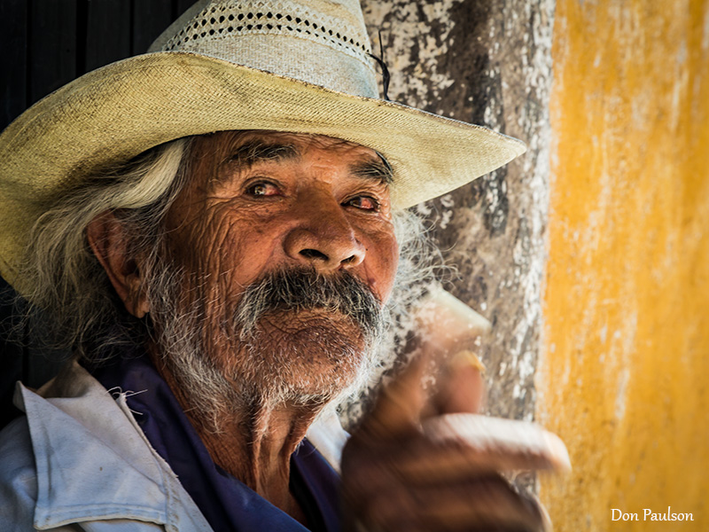 Portrait of a man, San Miguel de Allende, Mexico