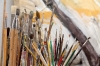 Artist\'s brushes, San Miguel de Allende, Guanajuato, Mexico