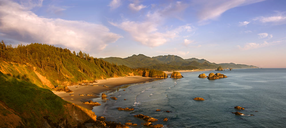 View from Ecola Point State Park, Oregon