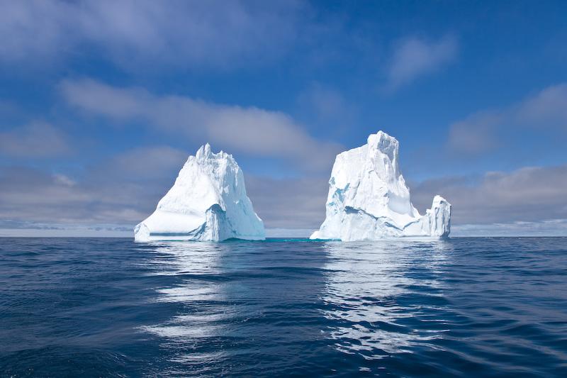 Scotia Sea; Icebergs
