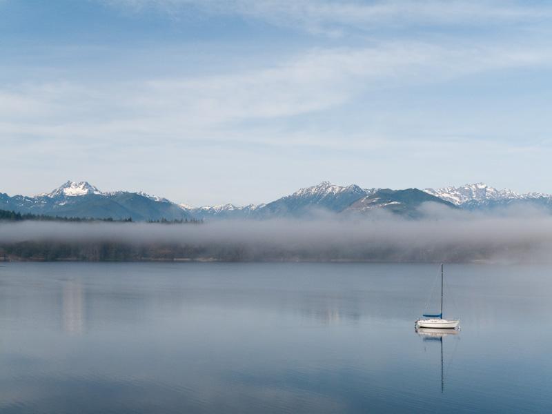 Washington; Seabeck; Hood Canal; Seabeck Bay; sailboat