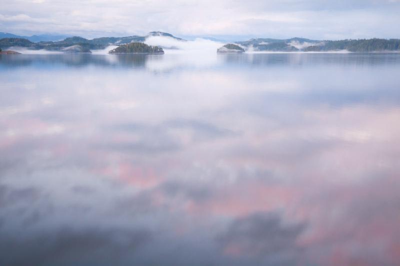 Calm Seas; British Columbia; Broughton Islands