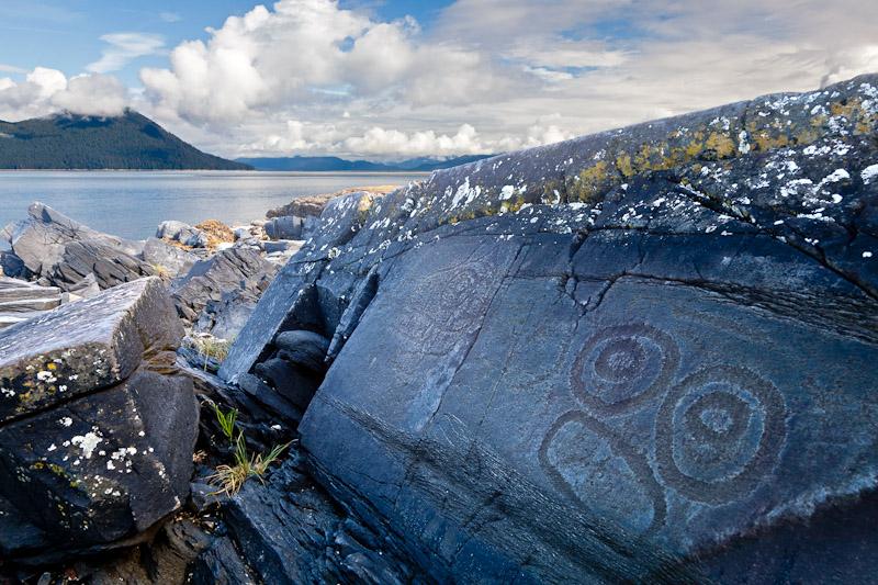 Petroglyph, Wrangell, Alaska