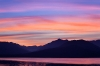 Washington; Seabeck; Hood Canal; Olympic Mountains; Sunset
