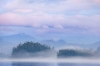 Pastel Scene; British Columbia; Broughton Islands; Village Island