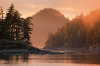 Sunset; British Columbia; Broughton Islands; Village Island