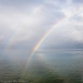 Rainbow over Hood Canal - Washington, Seabeck