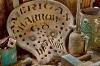 Tractor seat, Historic Buckner Orchard