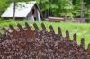 Saw blade, Historic Buckner Orchard