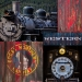 Collage of Historic Train Details, High Resolution: 30