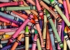 Scattered Crayons