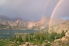 Rainbow, Island Lake, Wind River Range, Wyoming