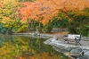 Oregon; Ashland; Lithia Park; Pond; Fall Color
