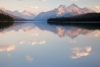 Canada; Alberta; Jasper National Park; Maligne Lake -  sunset