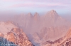 Sunrise, Mount Whiitney, from the Alabama Hills, near Lone Pine, California