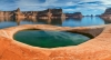Pool above Lake Powell (high resolution Panorama)