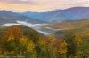 Fall Color, Black Mountains overlook, Blue Ridge Parkway, North Carolina