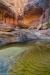 Pool of water - Utah, Capitol Reef National Park, Grand Wash