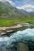 Archangel Creek near Archangel Mine, Alaska, Talkeetna Mountains, Hatcher Pass area, Archangel Road