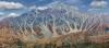 Artistic rendition of St. Elias Mountains - Canada, Yukon Territory. High resolution, multi-image panorama
