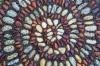 Spiral rock pattern