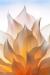 Dahlia with a golden glow - 50.6 mega pixel image