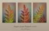 Oregon Grape Triptych