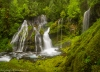 Panther Creek Falls, Gifford Pinchot National Forest, Washington. High Resolution, Multi-image composite
