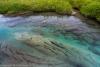 Pool in Archangel Creek near Archangel Mine, Alaska, Talkeetna Mountains, Hatcher Pass area, Archangel Road