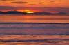 Washington; San Juan Islands; Patos Island; Sunset