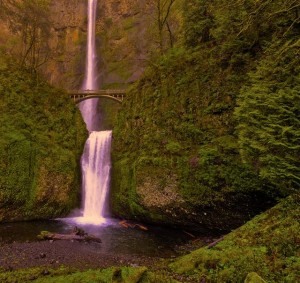 Brian Barry's Original Waterfall Picture
